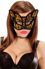 Tigre Máscara Con Estrás Nuevo - Carnaval Máscara Cara