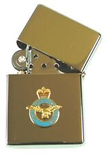 RAF ROYAL AIR FORCE  WINDPROOF CHROME PLATED LIGHTER