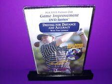 Pga Tour Driving For Distance & Accuracy Tom Lehman Golf Dvd + Bonus Dvd New