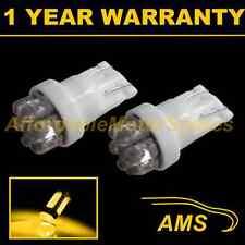 2X W5W T10 501 XENON AMBRA 7 Dome LED Luce Laterale Lato Lampadine HID SL100405