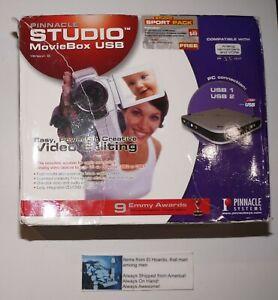 PINNACLE STUDIO MOVIEBOX USB VERSION 9 In Box