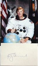 Apollo 9 Rusty Schweickart Lunar Module Pilot Astronaut Autograph Signed Card