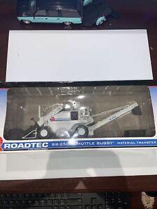 FIRST GEAR Roadtec SB-2500 Shuttle Buggy MTD 1:50 Die-cast New In Box