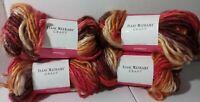 Isaac Mizrahi Craft Yarn 4 Skeins Columbus 4 Oz. #6 Super Bulky