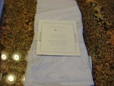 POTTERY BARN KIDS MARBLE SATEEN CRIB FITTED SHEEET GORGEOUS