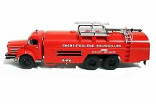 1/43 IXO - CAMION  POMPIERS - BERLIET GBO LANCE MOUSSE VMR 130 SIDES