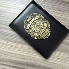 Resident Evil Stars Dep Raccoon Police Badge & Badge ID Holder Card Holder