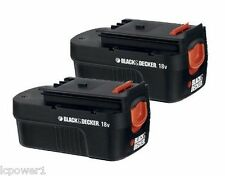 90553604 (2) Black & Decker HPB18 Replacement 18V Battery