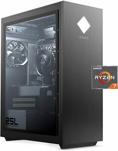 New HP OMEN GT12-0030 25L Gaming Desktop Ryzen 7 3700X 16GB 512GB Radeon RX 5500