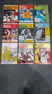 Collection of - The Ring - Boxing Magazines - Vintage - 1960