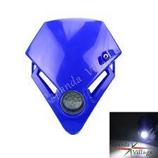 Acerbis Cyclops Universal Street Offroad Motorcycle Headlight Head Light Blue