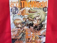 """.hack/G.U. """"the world"""" Piano Sheet Music & Fan Book"""