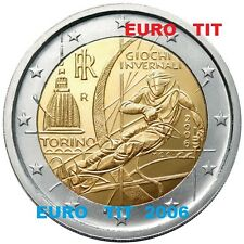 2 €    ITALIE    COMMEMORATIVE   2006        PIECE    NEUVE    DISPONIBLE