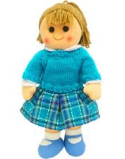 Hopscotch Childs Toy Rag doll woollen hair soft body ragdoll Jasmine
