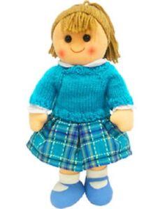 Hopscotch Childs Toy Rag doll woollen hair soft body ragdoll Jasmine