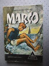 """SCOUTISME. SIGNE DE PISTE.""""MARCO"""" DE P.A.BERNARD. ILLUSTRATIONS P.JOUBERT.T.B.E"""
