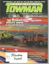 American Towman November 2015 Cinderblock Hauler Recovered Roll-Over Concrete Be