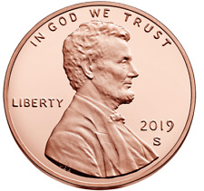2019-S Proof Lincoln Cent - Deep Cameo Proof Coin / Same Day Shipping!
