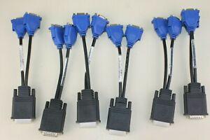 (6) Molex DMS-59 to VGA CN-0G9438-52204 Splitter Cable (loc:Shelf B)