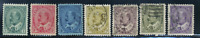 Canada #89-95 used VF/XF 1903-1908 King Edward VII Set CV$298.00
