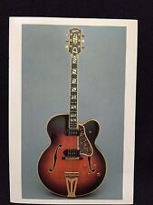 1958 Gibson Super 400 CES Electric Orchestra Guitar Post Card FS