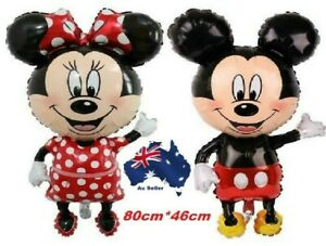 Mickey Minnie Mouse Themed Party Helium Foil Balloon ,Star Shape balloons,