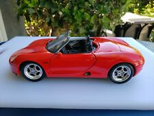 1/18 Diecast Porche Boxter In Red By Maisto