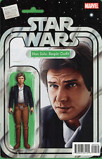 STAR WARS HAN SOLO #1 Bespin Figure Variant SIGNED By John Tyler Christopher NM