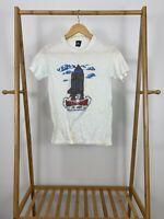 VTG 80 Mathathon St. Jude 50/50 Thin Single Stitch Short Sleeve T-Shirt Size S