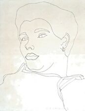 Cuban Art. Drawing by Carlos Rodriguez Cardenas. Untitled,ca 1982. Ink on paper.