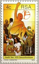 RSA SÜDAFRIKA SOUTH AFRICA 1979 559 Gesundheitsjahr Health Year Medizin MNH