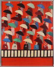 Peintures du XXe siècle et contemporaines personnage Style 1970
