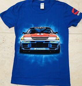 Nissan GTR 'Godzilla'  New T-shirt's Driven By Mark Scaife And Jim Richards
