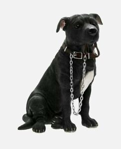 WALKIES LACK STAFFORDSHIRE BULL TERRIER ORNAMENT FIGURINE GIFT FOR DOG LOVERS HO