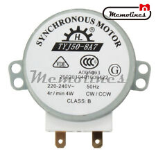Microwave Oven TYJ50-8A7 220/240 Volt Turntable Turn Table Synchronous Motor