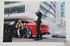 Rupert Friend & Hannah Ware 20x30cm foto Hitman Agent 47 + AUTOGRAFO/Autograph