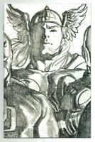 Thor #8 (2020) Alex Ross Timeless Virgin 1:100 Sketch Variant Marvel Comics
