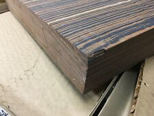 Colorply Ebony Swirl Lumber wood turning bowls pen blanks 6 x 6 x 2 or other