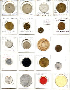 20 Pack Different North & South Carolina Good For Tokens