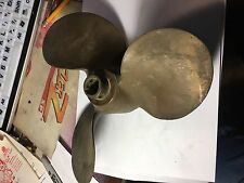 Michigan 3 blade propeller AMC379 USED AND USE-ABLE Bronze-Brass