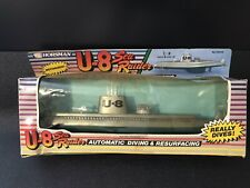 "Vintage 1980's Horsman U-8 Sea Raider 13"" Submarine Playart Gata Made In Macao"