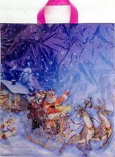 100 Tragetaschen Weihnachten Weihnachtstüten Plastiktüten 111