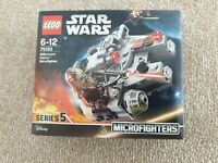 Lego Star Wars Set 75193 Microfighters Series 5 NEW