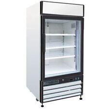 Maxx Cold MXM1-12F X-Series Reach In Freezer Single Glass Door Merchandiser