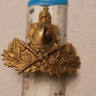 French Engineer Helmet Plate 2nd Empire 1850-1870---SEE STORE WW1 FRENCH MEDALS