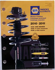 2010-2011 Napa Master Catalog Shocks & Struts Steering-Stoppin-Stability