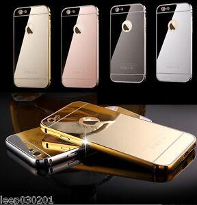 IPhone X XS Case Aluminium Mirror Case i Phone Cover 8 7 6 6+ 6s 5 SE 7+ 8+