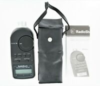Radio Shack Digital Sound Level Meter Tester 30-2055 with Case & Manual