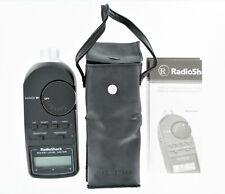 Radio Shack Digital Sound Level Meter Tester 33 2055 With Case Amp Manual