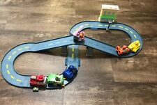 Paw Patrol Lot Marshall's Town Rescue Track Set w/ Motorized Vehicle + 5 Racers